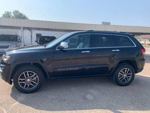 2017 Jeep Grand Cherokee for sale at Faw Motor Co in Cambridge NE
