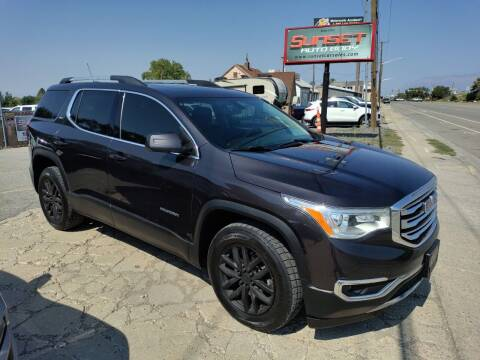 2019 GMC Acadia for sale at Sunset Auto Body in Sunset UT
