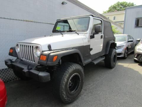 2005 Jeep Wrangler for sale at Boston Auto Sales in Brighton MA