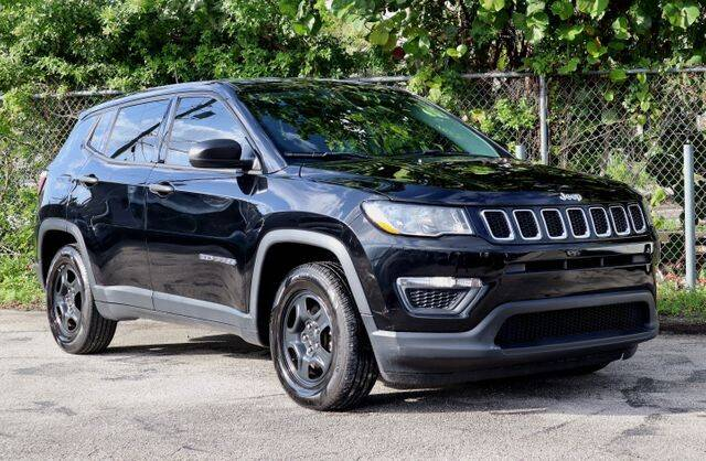 2018 Jeep Compass for sale at No 1 Auto Sales in Hollywood FL