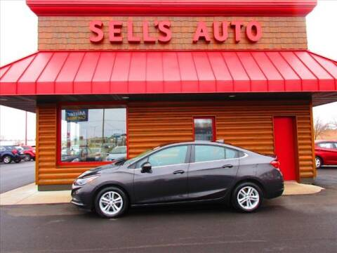 2017 Chevrolet Cruze for sale at Sells Auto INC in Saint Cloud MN
