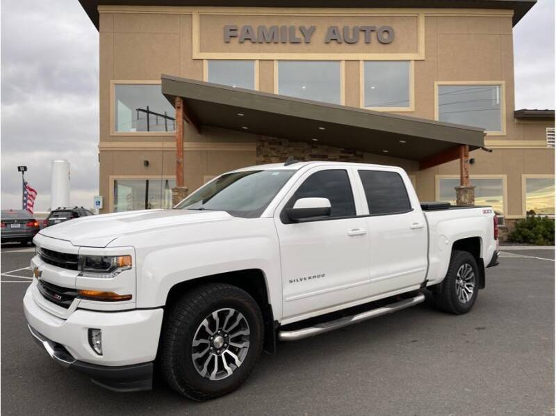 2017 Chevrolet Silverado 1500 for sale at Moses Lake Family Auto Center in Moses Lake WA