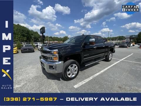 2017 Chevrolet Silverado 2500HD for sale at Impex Auto Sales in Greensboro NC