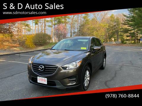 2016 Mazda CX-5 for sale at S & D Auto Sales in Maynard MA