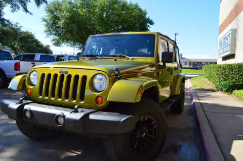 2007 Jeep Wrangler Unlimited for sale at E-Auto Groups in Dallas TX