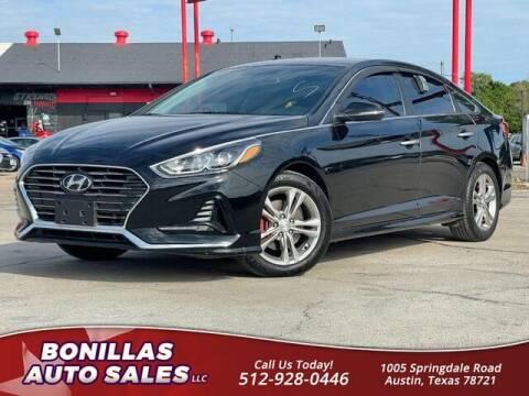 2018 Hyundai Sonata for sale at Bonillas Auto Sales in Austin TX