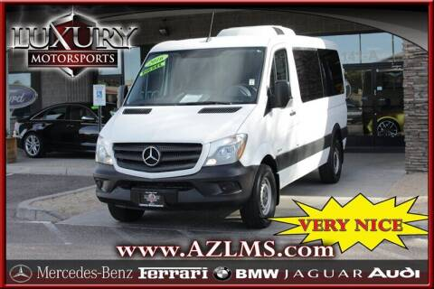 2016 Mercedes-Benz Sprinter Passenger for sale at Luxury Motorsports in Phoenix AZ