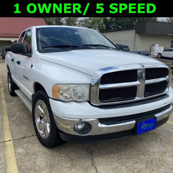 2004 Dodge Ram Pickup 1500 for sale at PITTMAN MOTOR CO in Lindale TX