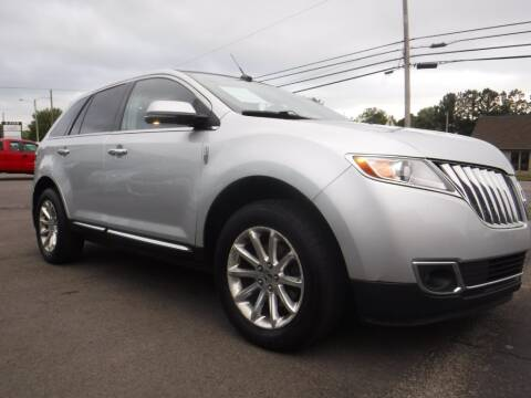 2013 Lincoln MKX for sale at Rob Co Automotive LLC in Springfield TN