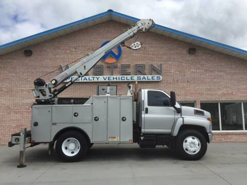 2009 GMC C7500 Mechanics Truck for sale at Western Specialty Vehicle Sales in Braidwood IL
