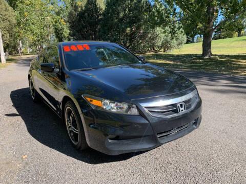2011 Honda Accord for sale at BELOW BOOK AUTO SALES in Idaho Falls ID