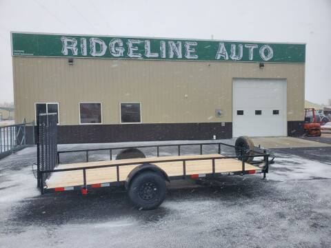 2021 K AND S FABRICATION 14' VALUE for sale at RIDGELINE AUTO in Chubbuck ID