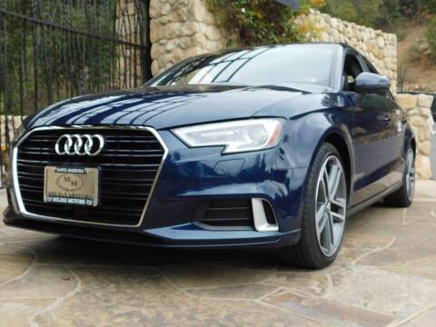 2017 Audi A3 for sale at Milpas Motors in Santa Barbara CA