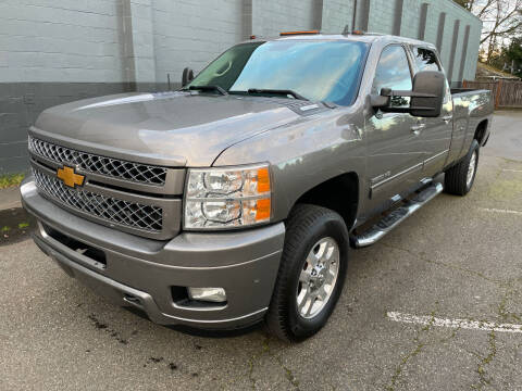 2012 Chevrolet Silverado 3500HD for sale at APX Auto Brokers in Lynnwood WA