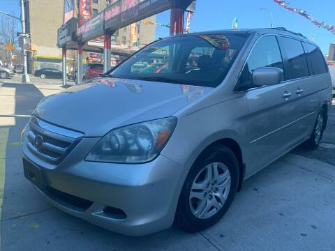 2005 Honda Odyssey for sale at Gallery Auto Sales in Bronx NY