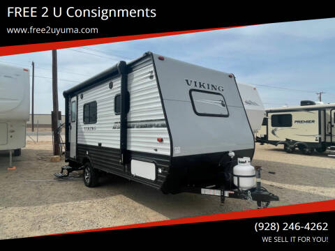 2019 Forest River Viking for sale at FREE 2 U Consignments in Yuma AZ