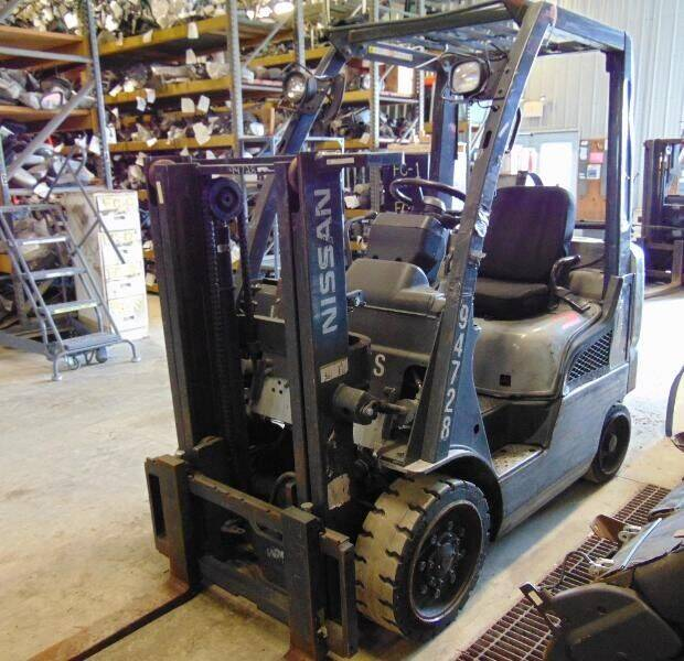 2010 Nissan Forklift for sale at Kenny's Auto Wrecking in Lima OH