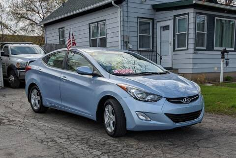 2012 Hyundai Elantra for sale at Budget City Auto Sales LLC in Racine WI