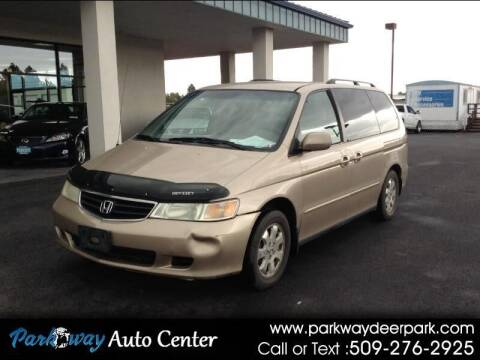 2002 Honda Odyssey for sale at PARKWAY AUTO CENTER AND RV in Deer Park WA