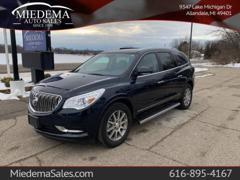 2016 Buick Enclave for sale at Miedema Auto Sales in Allendale MI