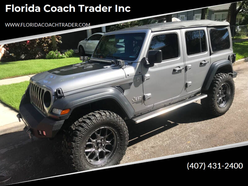 2018 Jeep Wrangler Unlimited for sale at Florida Coach Trader Inc in Tampa FL