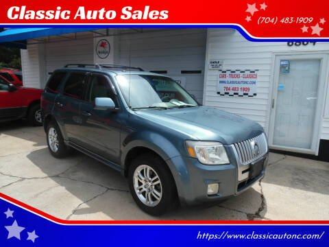 2010 Mercury Mariner for sale at Classic Auto Sales in Maiden NC