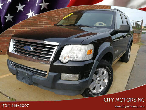 2007 Ford Explorer for sale at City Motors NC in Charlotte NC