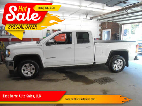 2016 GMC Sierra 1500 for sale at East Barre Auto Sales, LLC in East Barre VT
