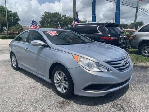 2014 Hyundai Sonata for sale at AUTO PROVIDER in Fort Lauderdale FL