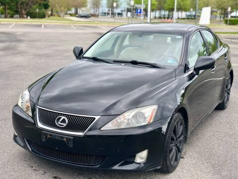 2008 Lexus IS 250 for sale at Supreme Auto Sales in Chesapeake VA