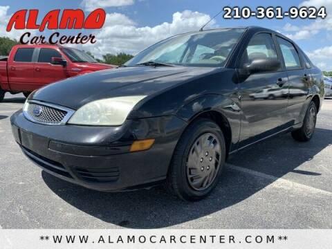 2005 Ford Focus for sale at Alamo Car Center in San Antonio TX