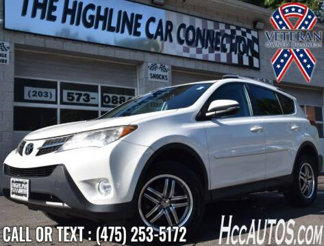 2013 Toyota RAV4 for sale at The Highline Car Connection in Waterbury CT