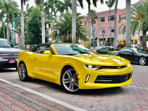 2018 Chevrolet Camaro for sale at AUTOSPORT MOTORS in Lake Park FL