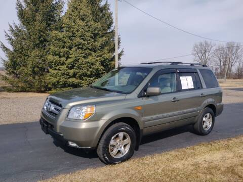 2008 Honda Pilot for sale at Carmart Auto Sales Inc in Schoolcraft MI