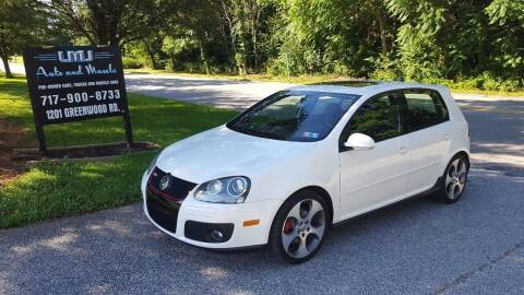 2009 Volkswagen GTI for sale at LMJ AUTO AND MUSCLE in York PA