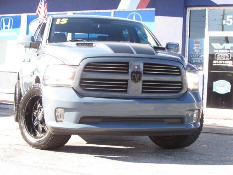 2015 RAM Ram Pickup 1500 for sale at VIP AUTO ENTERPRISE INC. in Orlando FL