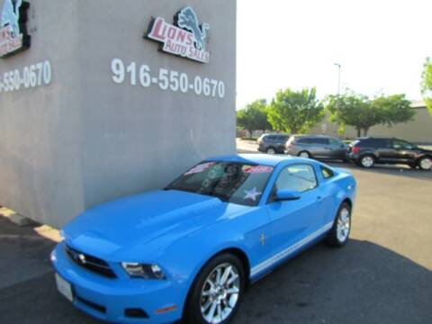 2010 Ford Mustang for sale at LIONS AUTO SALES in Sacramento CA