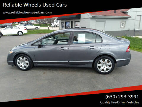 2010 Honda Civic for sale at Reliable Wheels Used Cars in West Chicago IL