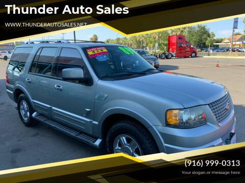 2006 Ford Expedition for sale at Thunder Auto Sales in Sacramento CA