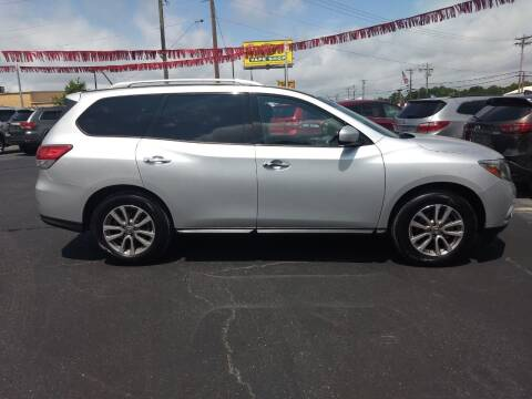2014 Nissan Pathfinder for sale at Kenny's Auto Sales Inc. in Lowell NC