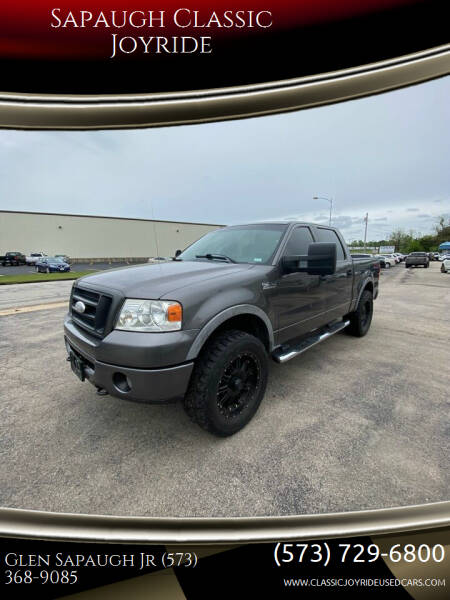 2007 Ford F-150 for sale at Sapaugh Classic Joyride in Salem MO