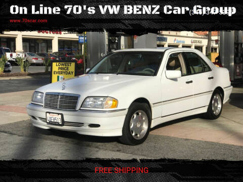 1998 Mercedes-Benz C-Class for sale at On Line VW BENZ 70'sCar Group in Warehouse CA