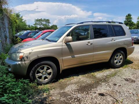 2006 Toyota Highlander for sale at M & M Auto Brokers in Chantilly VA