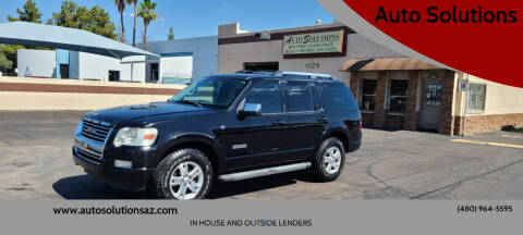 2007 Ford Explorer for sale at Auto Solutions in Mesa AZ