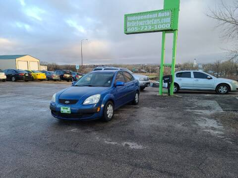 2008 Kia Rio for sale at Independent Auto in Belle Fourche SD