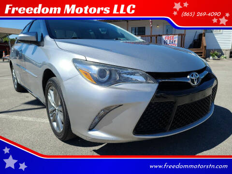 2016 Toyota Camry for sale at Freedom Motors LLC in Knoxville TN
