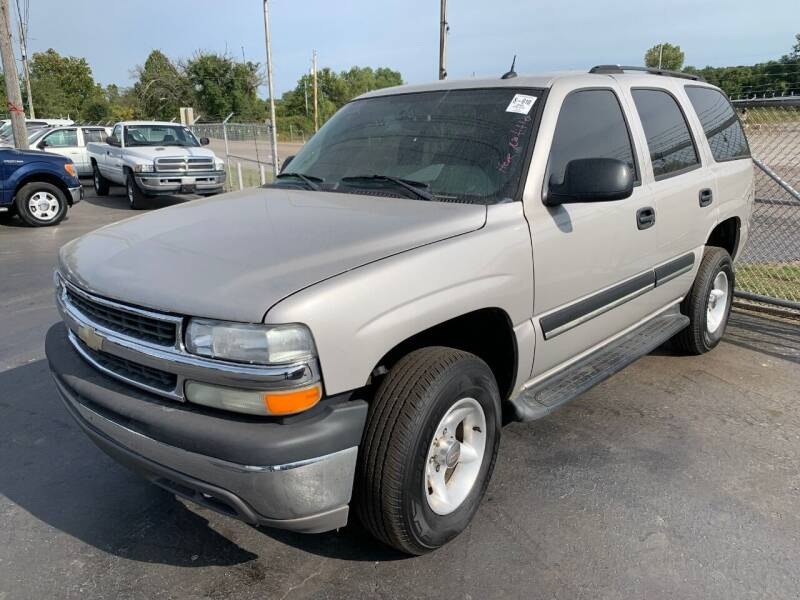 2005 Chevrolet Tahoe for sale at American Motors Inc. - Cahokia in Cahokia IL