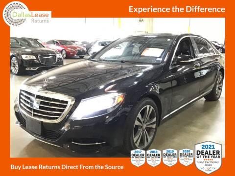 2014 Mercedes-Benz S-Class for sale at Dallas Auto Finance in Dallas TX