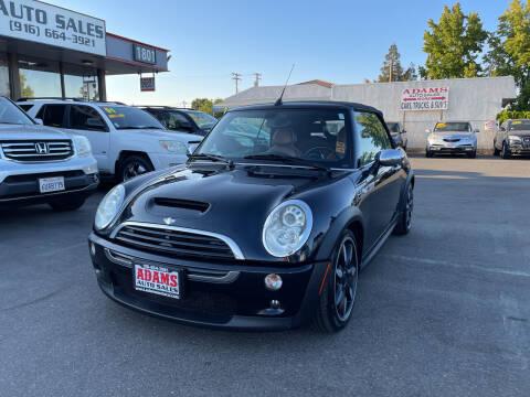 2008 MINI Cooper for sale at Adams Auto Sales in Sacramento CA