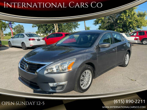 2014 Nissan Altima for sale at International Cars Co in Murfreesboro TN